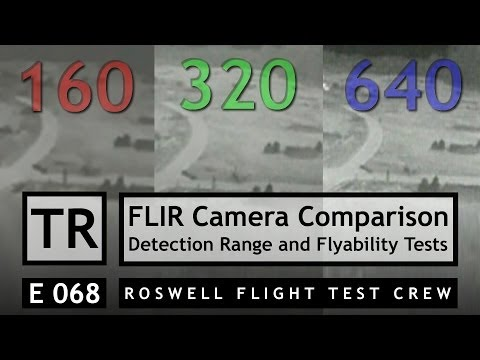 RFTC: FPV FLIR Thermal Camera Comparison, Detection Range and Flight Testing - UC7he88s5y9vM3VlRriggs7A