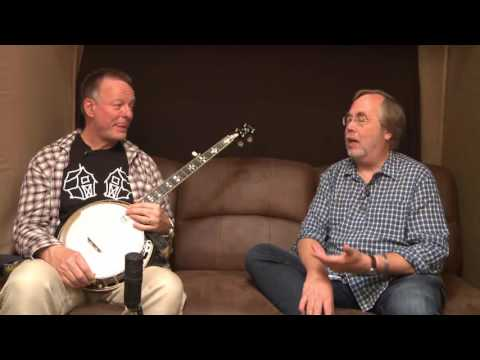 Tony Trischka Interviews Danny Barnes at RockyGrass 2016