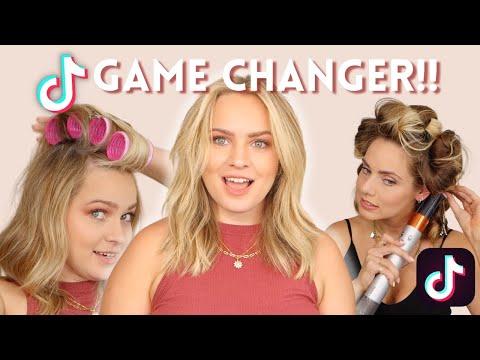 Hairstylist Tries TikTok Hair Hacks 🎉 or 🧢 ?? – KayleyMelissa