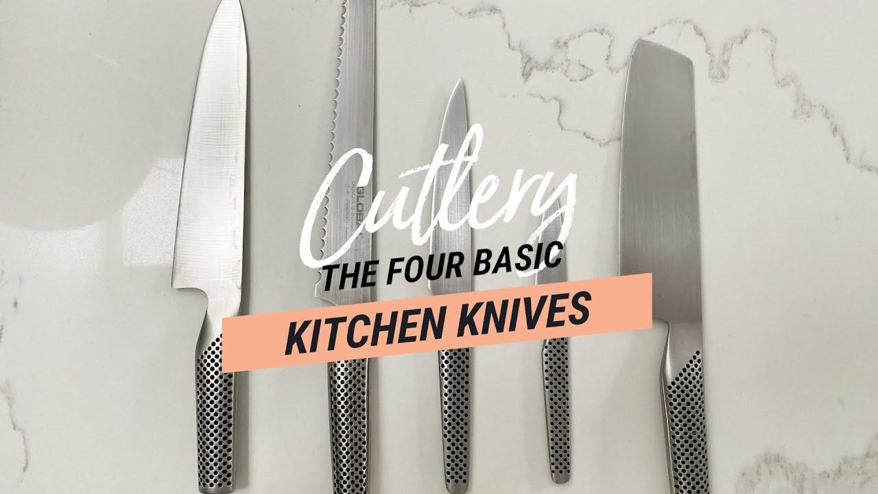 刀技巧:四个基本的厨房刀