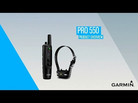 Garmin PRO 550: Product Overview