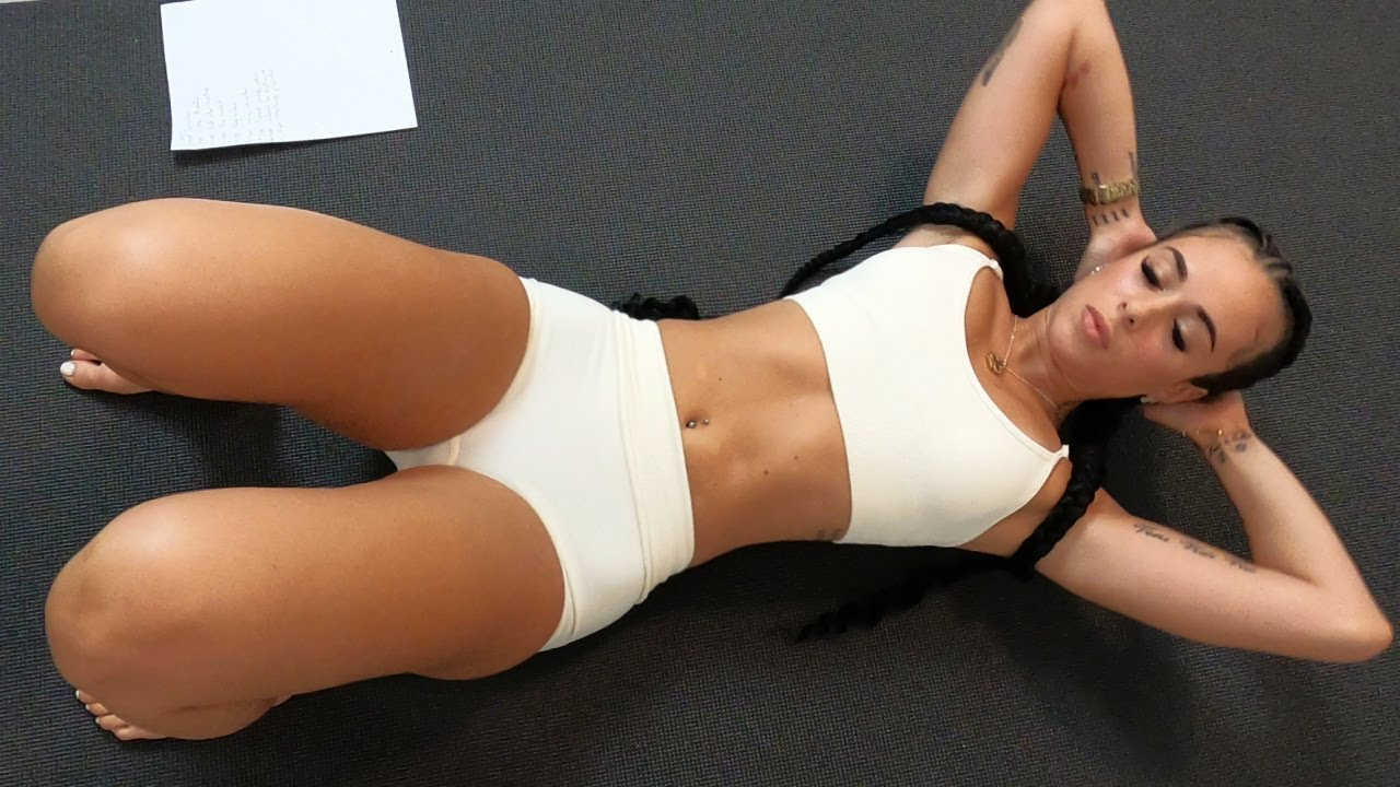 Hot Girls Home Ab Workout!