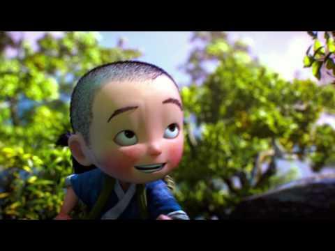 China's Monkey King hero is Back - animation thinkingParticles FX by Hu Lizhi of 52moshi.com