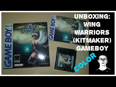 Unboxing: Wing Warriors (Kitmaker Gameboy) Color