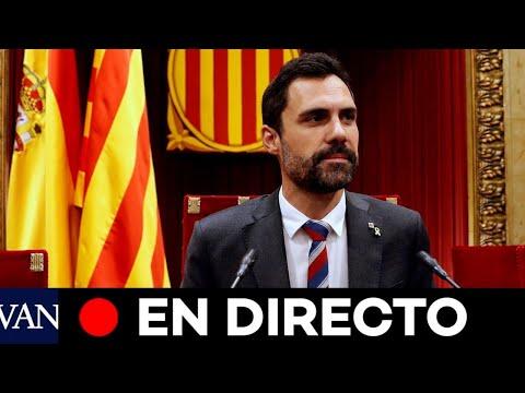 DIRECTO: Pleno en el Parlament de Catalunya