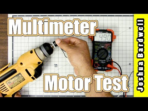 Quadcopter Motor Damaged? How to find out. With a drill. - UCX3eufnI7A2I7IkKHZn8KSQ