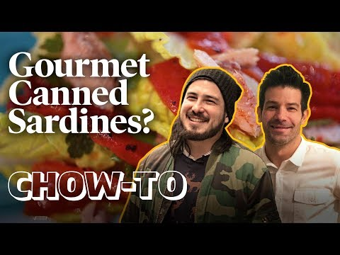 How to Use Canned Sardines — From a Michelin Star Chef! | CHOW-TO