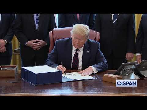 President Trump Signs Coronavirus Economic Relief Bill