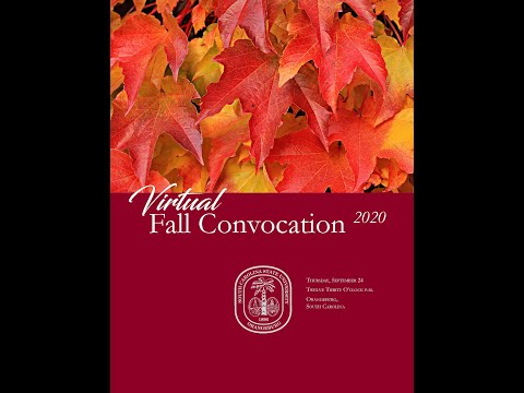Virtual Fall Convocation 2020