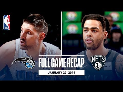 Full Game Recap: Magic vs Nets | Russell & Dinwiddie Combine For 54 Points