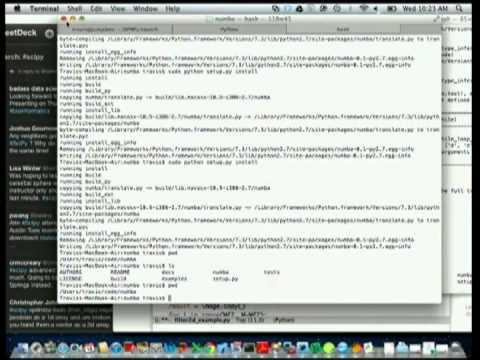 Image from Numba Python bytecode to LLVM translator