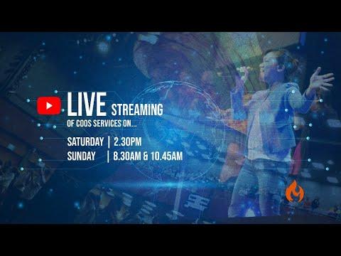 8 Aug, Sun  8.30am: COOS Service Live Stream