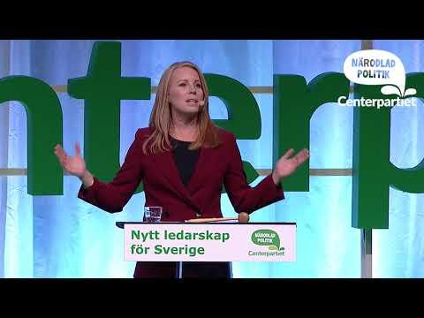 Annie Lööfs invigningstal partistämman 2017