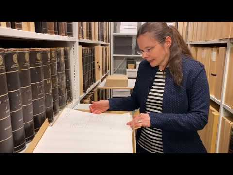 Digital visning: Historiska skatter i arkivet
