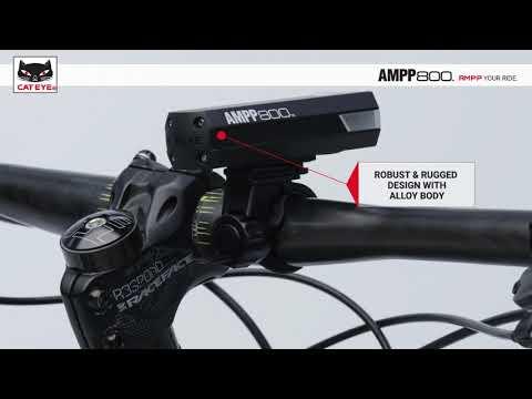 AMPP800 Tech Video | CatEye Bicycle Electronics