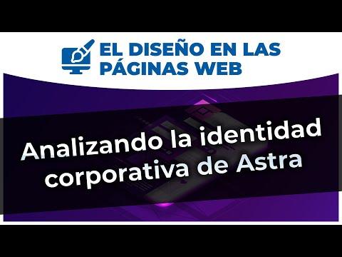 Analizando la identidad corporativa de Astra | #DiseñoWeb