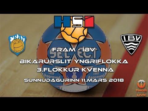 Bikarúrslit 2018 | Fram - ÍBV | 3.fl.kvenna