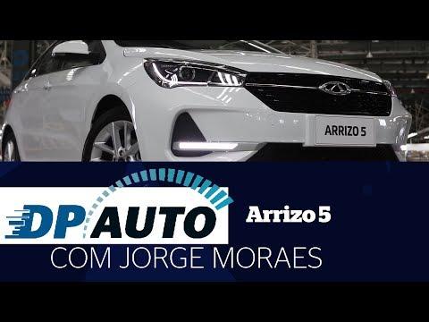 CAOA Chery implanta o Arrizo 5 no Brasil