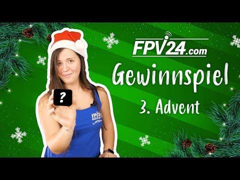 (BEENDET) 3. Advent – FPV GEWINNSPIEL zu Weihnachten 🎄 | #fpv24xmas