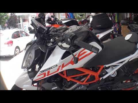 The KTM DUKE motorcycles 2019