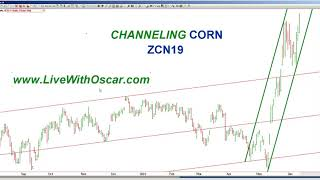 Oscar Carboni #Teaches #Day-trading The OMNI Way in #Gold & Channeling Corn 06/14/2019 #1952