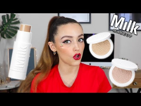 "BEST FOUNDATION STICK EVER""!"" NEW MILK MAKEUP FLEX FOUNDATION & HIGHLIGHTS"
