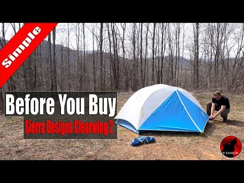 Before You Buy - Sierra Designs Clearwing 2 Tent - Setup