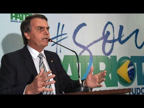 Jair Bolsonaro: Brazil's Far-Right Version of Trump Leads the Presidential Race