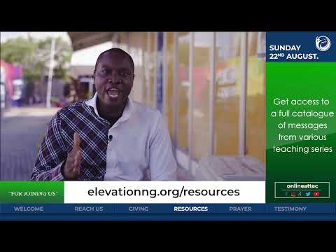 The Elevation Church Broadcast - Winning The Battle For Souls - 22nd Aug 2021