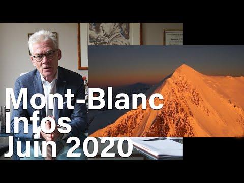Mont-Blanc Voie Normale Refuge du Goûter infos juin 2020 Jean-Marc Peillex Saint-Gervais montagne