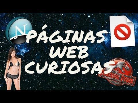 Páginas web curiosas