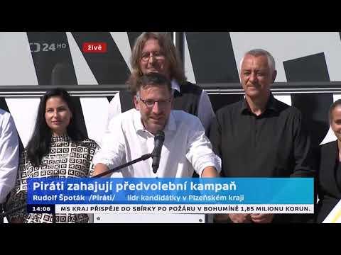 Zahájení kampaně, Praha 4.9.