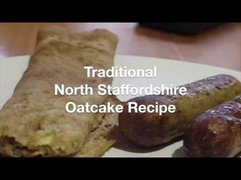 North Staffordshire Oatcake Recipe