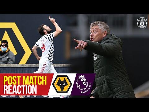 Solskjaer & Mata react to Wolves win | Wolverhampton Wanderers 1-2 Manchester United