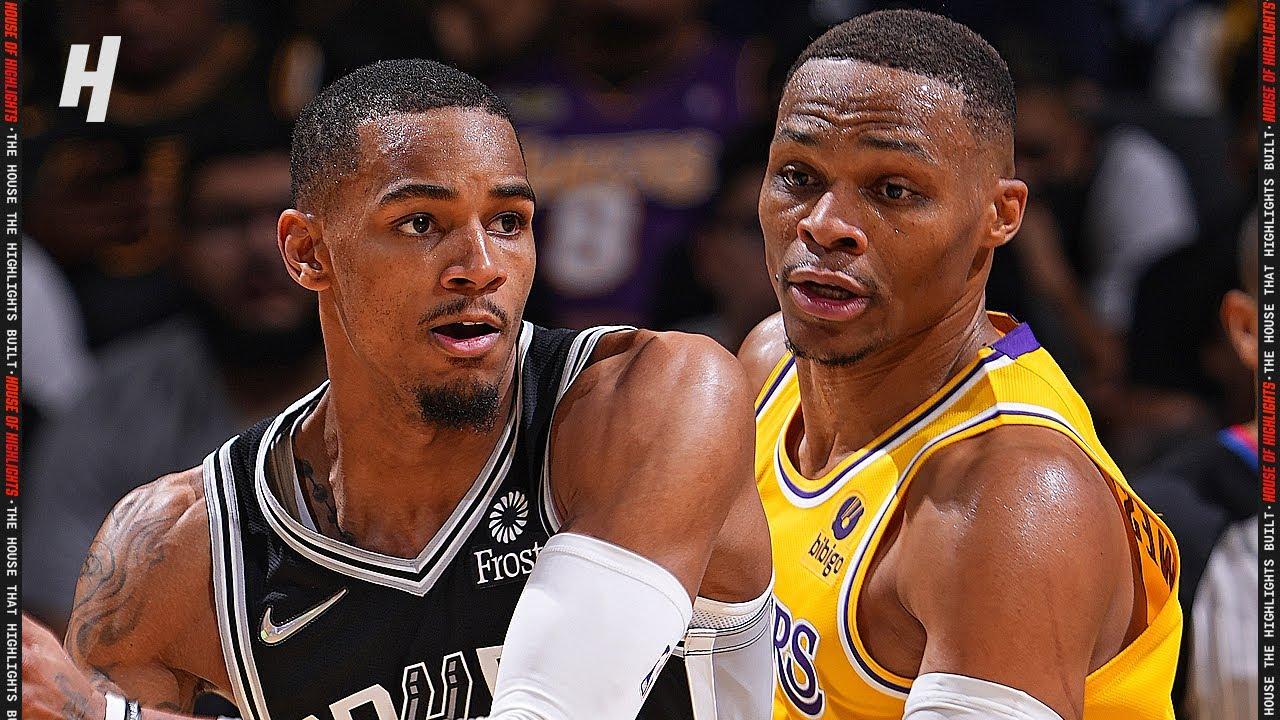 Los Angeles Lakers vs San Antonio Spurs – Full Game Highlights | October 26, 2021 NBA Season