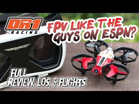 FPV LIKE THE GUYS ON ESPN? - Full Review of the Airhogs DR1 Racing Drone - UCwojJxGQ0SNeVV09mKlnonA