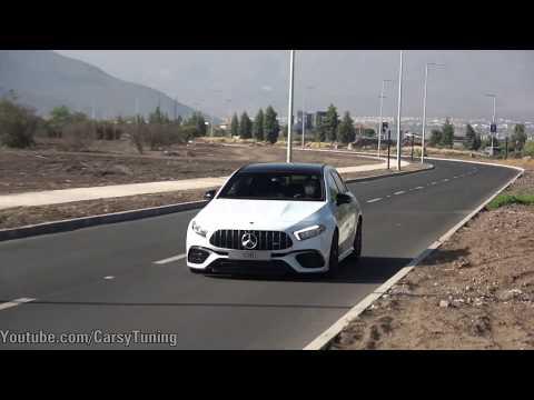 A Bordo del nuevo Mercedes-AMG A45 S - Aceleración, Launch Control y mas!