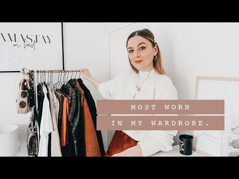 MOST WORN IN MY WARDROBE IN 2018 | I Covet Thee