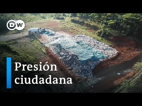 Colombia: basura en la selva