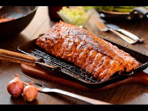 Costilla de cerdo adobada en salsa de chile morita - UCvg_5WAbGznrT5qMZjaXFGA