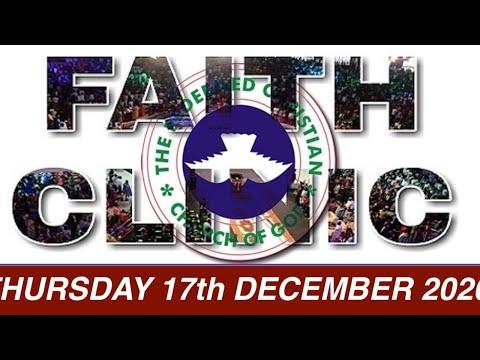 RCCG DECEMBER 17th 2020 FAITH CLINIC