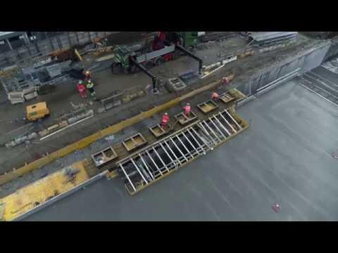 ZÜBLIN A/S – Project Thomas B. Thriges Gade: Drone Flight