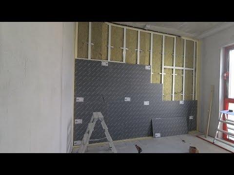 Шумоизоляция стены в квартире своими руками. Все этапы. Каркасный вариант photo