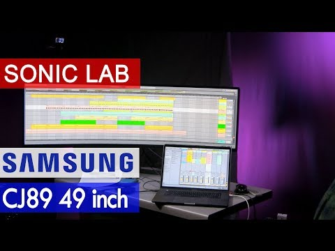 Sonic LAB: Samsung CJ89 Ultra Wide 49 inch Curved Display with USB-C