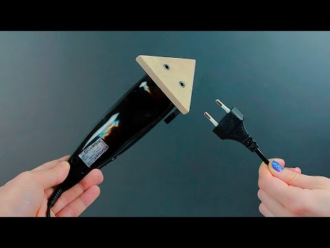 DIY sanding tool from a trimmer - UCZM2vsQp6xH1qmDCp8Ucwzg