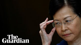 Hong Kong's Carrie Lam evades question on having autonomy over decisions