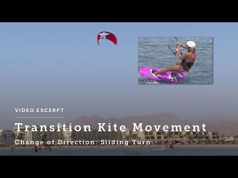 Transitions: Sliding Turns - Understand the Kite Movement - Kiteboarding Technique & Tips