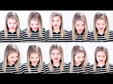 10 MODERN HAIR PARTING LINES | Milabu