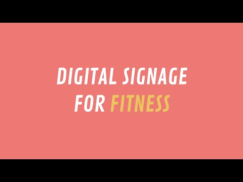 ScreenScape Digital Signage for Fitness Centers