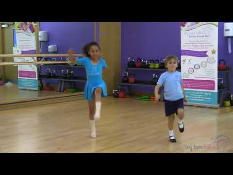 Dance with our tiny toes ballet stretch Song
